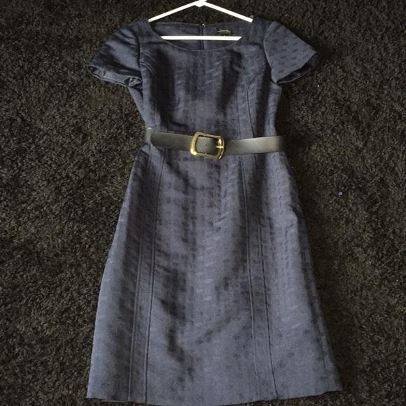 Tahari Dresses & Skirts - Navy Blue Business Dress